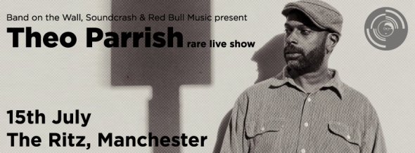 Theo Parrish Manchester show