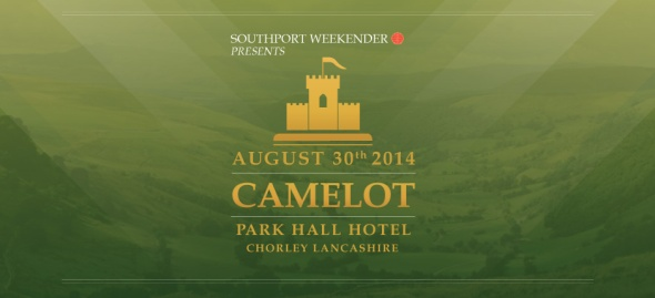 Camelot, Park Hall Hotel, 2pm to 6am, Saturday 30th August